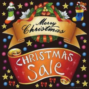 デコレーションシール6352 チョークアート クリスマス5|area27
