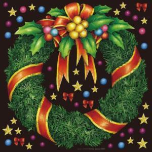 デコレーションシール6353 チョークアート クリスマス6|area27
