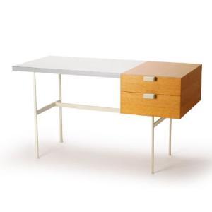 メトロクス F031デスク (プチデスク) オーク/ホワイト METROCS F031 Desk (...