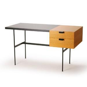 メトロクス F031デスク (プチデスク) オーク/ブラック METROCS F031 Desk (...