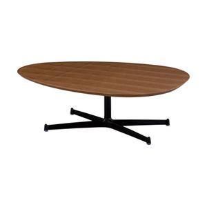 北欧・モダン エッグ リビング テーブル ウォルナット カフェ Egg Living Table Walnut / おしゃれ arenot