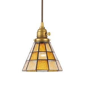 アートワークスタジオ ステンドグラスペンダント チェッカー 白熱球付 ART WORK STUDIO Stained glass-pendant Checker lamp set / おしゃれ|arenot
