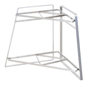 フレームズ&サンズ ステンレス キッチンコーナーラック 2段 FRAMES&SONS Stainless steel Kitchen Corner rack 2 / おしゃれ arenot