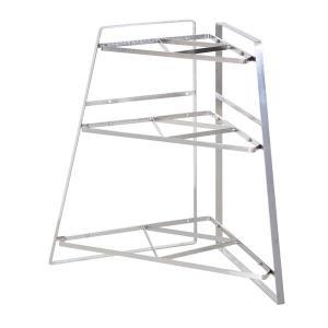 フレームズ&サンズ ステンレス キッチンコーナーラック 3段 FRAMES&SONS Stainless steel Kitchen Corner rack 3 / おしゃれ arenot