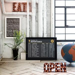 アートワークスタジオ オープンサイン ART WORK STUDIO OPEN sign / おしゃれ arenot 02