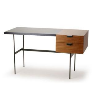 メトロクス F031デスク (プチデスク) チーク/ブラック METROCS F031 Desk (...