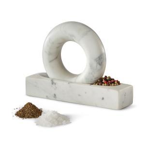 デザインハウスストックホルム トンドゥ グレイ/ホワイト Design House Stockholm Tondo mortar and pestle grey/white / おしゃれ arenot