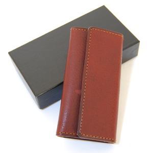 CRAFTWORK PRODUCTS(クラフトワーク プロダクツ) ミネルバ ボックス キーケース ダークブラウン(MINERVA BOX KEY CASE d.brown)|arenot