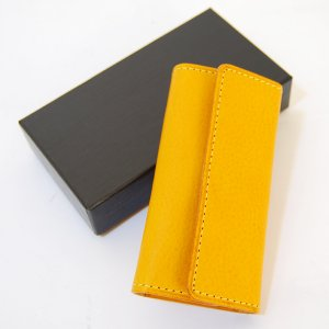 CRAFTWORK PRODUCTS(クラフトワーク プロダクツ) ミネルバ ボックス キーケース イエロー(MINERVA BOX KEY CASE yellow)|arenot