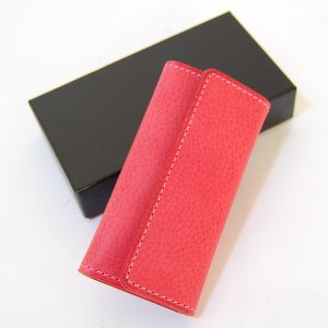 CRAFTWORK PRODUCTS(クラフトワーク プロダクツ) ミネルバ ボックス キーケース ピンク(MINERVA BOX KEY CASE pink)|arenot