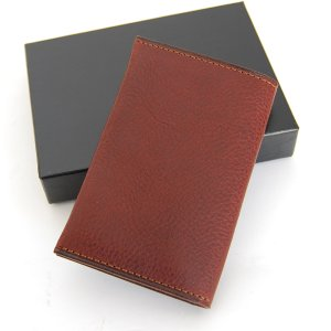 CRAFTWORK PRODUCTS(クラフトワーク プロダクツ) ミネルバ ボックス ダブル カードケース ダークブラウン(MINERVA BOX DOUBLE CARD CASE d.brown)|arenot