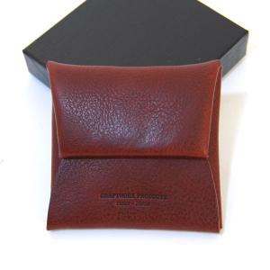 クラフトワーク プロダクツ ミネルバ ボックス コインケース ダークブラウン CRAFTWORK PRODUCTS MINERVA BOX COIN CASE d.brown / おしゃれ|arenot