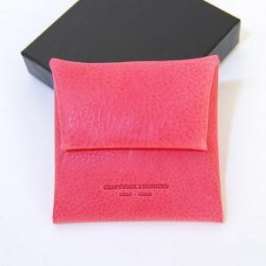 クラフトワーク プロダクツ ミネルバ ボックス コインケース ピンク CRAFTWORK PRODUCTS MINERVA BOX COIN CASE pink / おしゃれ|arenot
