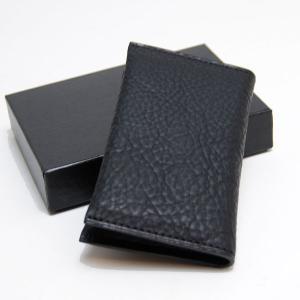 CRAFTWORK PRODUCTS(クラフトワーク プロダクツ) ミネルバ ボックス ダブル カードケース ブラック(MINERVA BOX DOUBLE CARD CASE black)|arenot