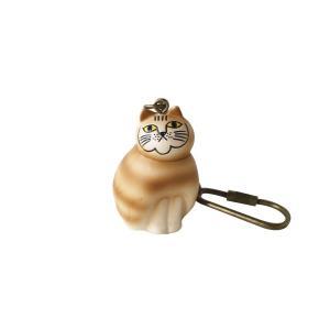 LISA LARSON(リサラーソン) ミニアニマル キーホルダー ミアネコ(MINI ANIMAL KEY CHAIN cat mia)|arenot