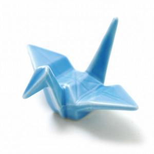 NIPPON souvenir(ニッポンスーベニア) 折り鶴 箸置き ライトブルー(ORITSURU HASHIOKI light blue)|arenot