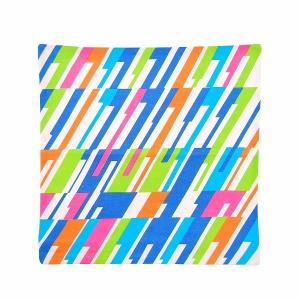 クンスト・バウム ジオメトリック クッションカバー ウェーブ マルチ ストライプ KUNST BAUM GEOMETRIC CUSHION COVER wave multi stripe / おしゃれ|arenot