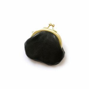 CRAFTWORK PRODUCTS(クラフトワーク プロダクツ) 栃木レザー がま口 S ブラック(tochigi leather GAMAGUCHI S black)|arenot