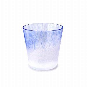 iro(イロ) フリーズ ロックグラス ブルー(FREEZE ROCK GLASS blue)|arenot