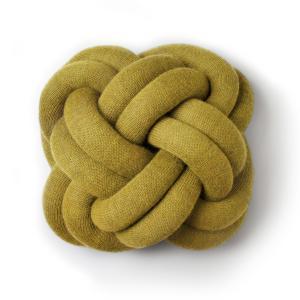 デザインハウスストックホルム ノット クッション イエロー Design House Stockholm Knot CUSHION yellow / おしゃれ|arenot
