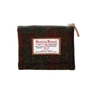 HARRIS TWEED × TAILORISM(ハリスツイード × テーラリズム) ティッシュポーチ チェックダークグリーン(TISSUE POUCH check darkgreen)|arenot
