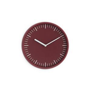 ノーマン・コペンハーゲン デイ ウォールクロック ダークレッド normann COPENHAGEN Day Wall Clock dark red / おしゃれ|arenot