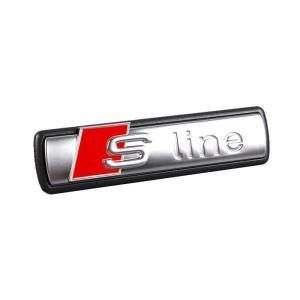アウディ純正部品(ドイツ直輸入) S-lineエンブレム フロントグリル用 4F0853736A2ZZ|areyss-edivision