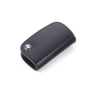 BMW純正部品(US限定) BMW レザーキーケース ブラック 80232149936