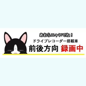 人気のドラレコステッカーに猫バージョンが誕生!! 社会問題になっているあおり運転から身を守るステッカ...