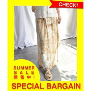 SALE セール マキシスカート ボトムス   ロングスカート 30代 40代 マキシ丈 Print...