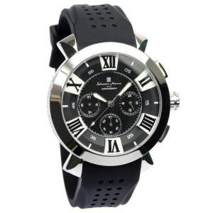 [サルバトーレマーラ]Salvatore Marra 腕時計 ウォッチ イタリアブランド 立体インデックス ビジネス カジュアル 10気圧防水 メンズ|ariari