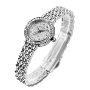 S2SQURE 腕時計 クォーツ レディース ガールズ キラキラシルバー ダイヤ設計 (ホワイト)|ariari