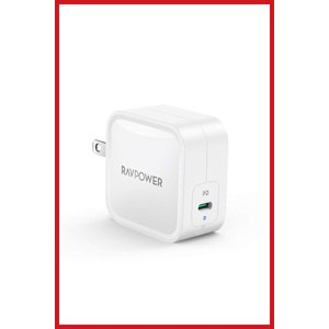 RAVPower 61W USB-C 急速充電器(世界最小最軽量クラス)  折畳式/PD対応 USB...
