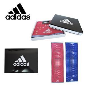 adidasスポーツタオル 1枚 ギフト 箱入り アディダス フェイスタオル タオル レディース メンズ  ギフト プレゼント お祝い ケース スポーツ|ariat