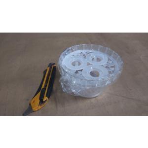 クロッカス 用 水栽培 容器 3球用 1個 プラスチック製の画像