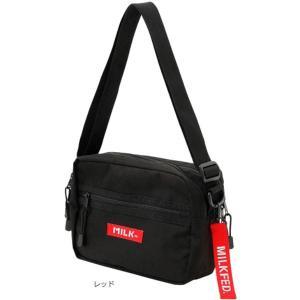 大人気の SHOULDER BAG BAR 03172021 にロゴテープ(キーホルダー取り外し可)...