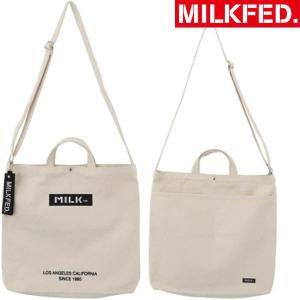 MILKFED.で人気の2WAY使用のショルダーバッグが、バージョンアップして新登場! 便利な外ポケ...