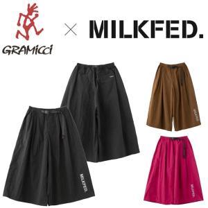 ミルクフェド グラミチ パンツ MILKFED. X GRAMICCI WIDE PANTS 送料無...