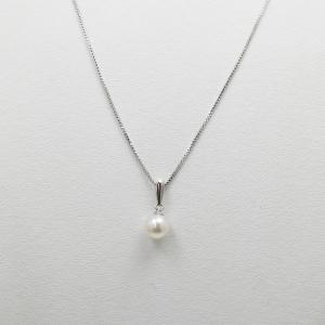真珠 ネックレス 一粒 パール 真珠 ネックレス あこや真珠...