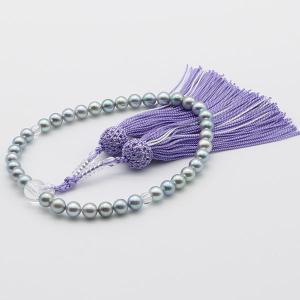 真珠 数珠 パール 念珠 あこや真珠 数珠 7mm-7.5m...