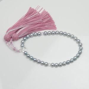 真珠 数珠 パール 念珠 あこや真珠 数珠 7.5mm-8m...