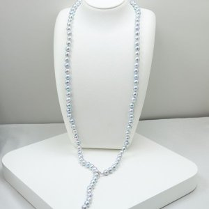真珠パールロングネックレス