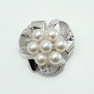 真珠パールブローチあこや真珠パールブローチ7mm-7.5mm...
