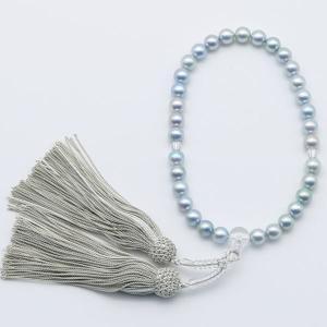 真珠 数珠 パール 念珠 あこや真珠 数珠 8mm-8.5m...