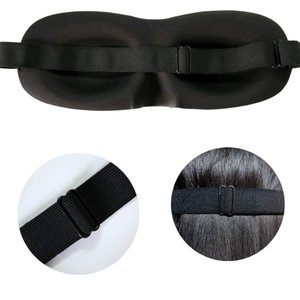 CherishY アイマスク 立体型睡眠マスクと柔らかいベルクロストラップ耳栓男女兼用 通気性 記憶スポンジ アイマスク、に最適安眠 仮眠旅|aries8