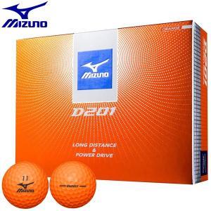 2017年モデル ミズノ D201 ゴルフボール オレンジ 1ダース(12球)  arigaen