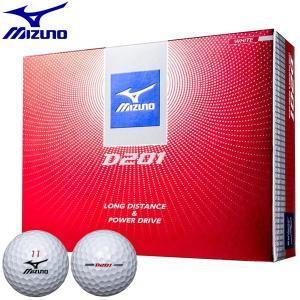 2017年モデル ミズノ D201 ゴルフボール ホワイト 1ダース(12球) |arigaen