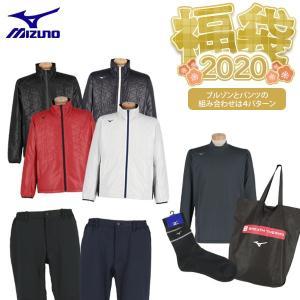 【2020福袋】豪華5点セット ミズノ メンズ ブレスサーモ体感セット 2020年新春あったか福袋 [有賀園ゴルフ]