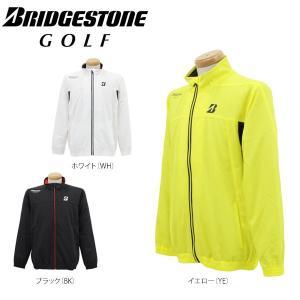 ブリヂストンゴルフ メンズ 長袖 防風 ブルゾン 1GDM1D [2016年モデル] ゴルフウェア [春夏モデル 64%OFF] 特価 [有賀園ゴルフ]|arigaen