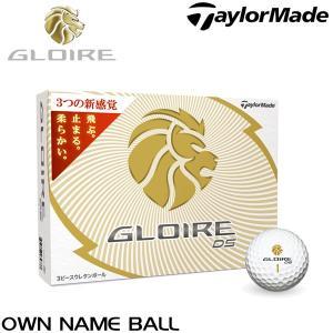 オウンネーム専用 テーラーメイド GLOIRE グローレ DS ボール 1ダース(12球入り) arigaen